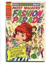 PATSY WALKER'S FASHION PARADE #1 1965-MARVEL-F/VF - $107.19