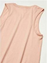 Marky G Apparel Women's Jersey Muscle Tank- Heather Peach- Size XL  image 2