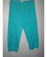 Cute Monroe & Main Turquoise Capri size 10 new w/o tags - $20.00