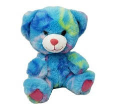 BUILD A BEAR LIL PAL SMALLFRYS BLUE PEACE TEDDY BABW STUFFED ANIMAL PLUS... - $14.00