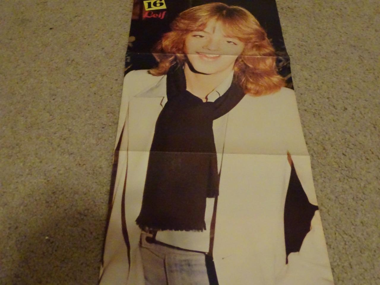Leif Garrett Shaun Cassidy teen magazine poster clipping Tiger Beat Young Boy