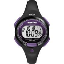 Timex IRONMAN® 10-Lap Watch - Mid-Size - Purple/Black - £37.15 GBP