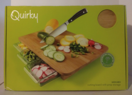Quirky mocubo cutting board with prep storage - $32.29 CAD