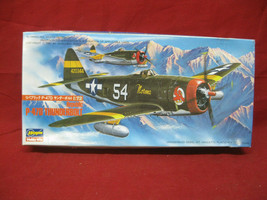 Hasegawa P-47D Thunderbolt US Army Air Force Fighter 1:72 Model Kit  - $24.74