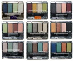 COVERGIRL* Eye Enhancers QUAD KIT Eyeshadow NEW STYLE Gray Case *YOU CHO... - $7.56