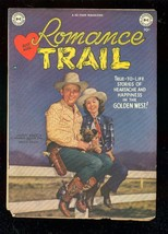 ROMANCE TRAIL #1 1949-DC WESTERN-JIMMY WAKELY PHOTO COV VG- - $151.32