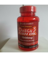 Holland & Barrett Extra Strength Omega 3 Fish Oil 60 Capsules 1500mg - $27.51