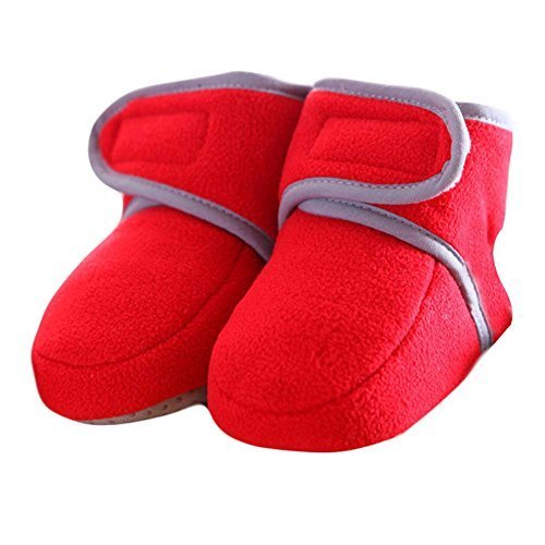 Toddler Shoes Small Shoes Thick Warm Winter Baby Shoes Crib Shoes Infant