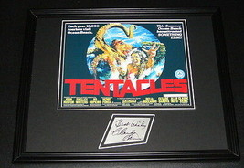 Claude Akins Signed Framed 11x14 Photo Display Tentacles - $52.00