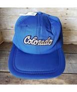 Vintage Colorado Trucker Hat Insulated Ski Ball Cap Snapback Aspen Denve... - $290.24