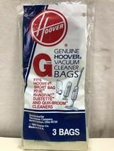 GENUINE HOOVER VACUUM CLEANER BAGS TYPE G 3 IN BAG - $4.76