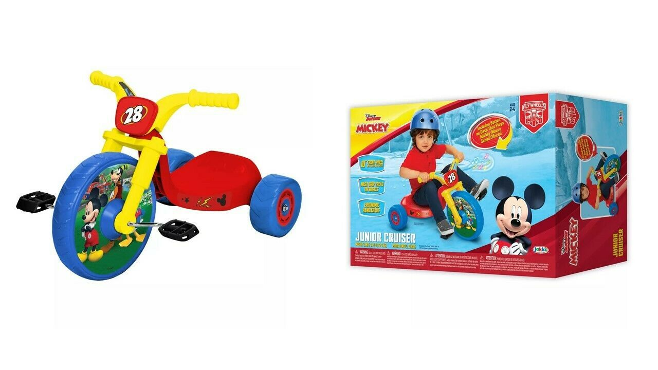 Primary image for Disney Mickey Mouse & Friends Junior Cruiser (fly wheel) New & Open Box