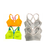 Mixed Lot Of 5 Joe Boxer Padded Seamless Sports Bras Assorted Sizes & Co... - $37.99