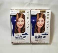 Clairol Root Touch-Up Permanent Creme 5G Medium Golden Brown Shade Pack ... - $17.99