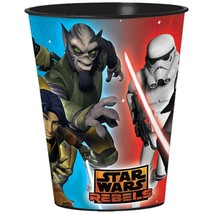 Star Wars Rebels Keepsake Stadium Cup 1 Each Plastic Birthday Party Supp... - $2.23