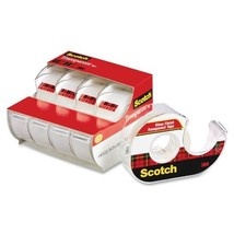 Scotch Transparent Tape, Great Value, Glossy Finish, Cuts Cleanly, Great... - $9.47
