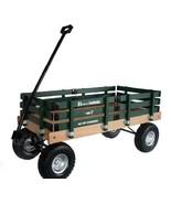 HEAVY DUTY LOADMASTER DARK GREEN WAGON - Beach Garden Utility Cart AMISH... - $330.18