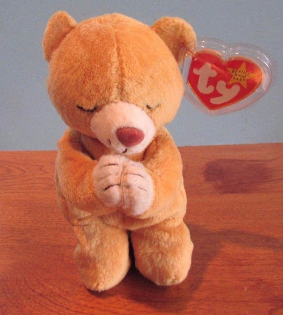 c25fa6fb76d Ty Beanie Babies Baby Plush Praying Bear and 33 similar items. 57