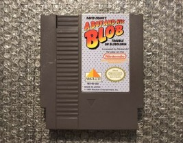 A Boy And His Blob - NES Nintendo Game Cartridge - Authentic & Tested - $18.62