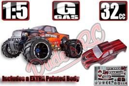 RedCat Rampage MT V3 1/5 Gas RTR Monster Truck Orange w/FREE Body Blue S... - $840.99