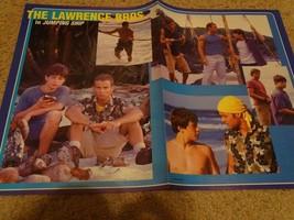 Joey Lawrence Josh Hartnett teen magazine clipping Andy Lawrence shirtless rare