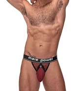 MALE POWER JOCK BURGUNDY SIZE S/M - $21.55
