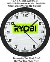 RYOBI TOOLS WALL CLOCK-Free US Ship, Craftsman, Milwaukee - $27.71+