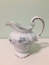 Johann Haviland Blue Garland Creamer Bavaria Germany Fine China. - $14.85