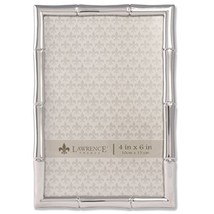 Lawrence Frames 710146 Silver Metal Bamboo Picture Frame, 4 by 6-Inch - $17.10