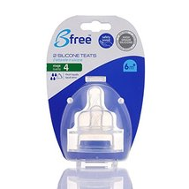 Bfree Stage 4 Thick Flow Silicone Nipple Pack - $7.99