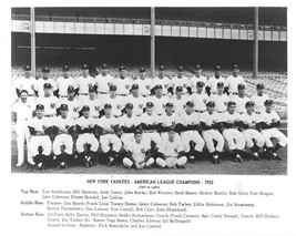 1955 NEW YORK YANKEES 8X10 TEAM PHOTO BASEBALL PICTURE NY AL CHAMPS MLB - $3.95