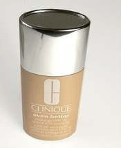 CLINIQUE Foundation 19 Clove Even Better Evens & Correct Makeup NIB - $16.84