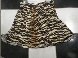 NWT 100% AUTH Dolce Gabbana D&G Leopard Print Skirt IT 44 - $255.42