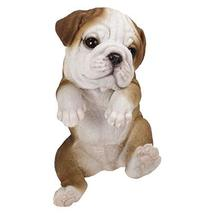 Pacific Giftware PT Realistic Look Hanging Statue Pot PAL Bulldog Puppy ... - $26.72