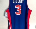 Grant Hill # 33 Detroit Pistons Swingman Basketball Jersey Stitched Blue