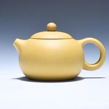TWND purple clay tea pot with ball filter handmade mud duan - $46.95