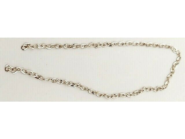 Silver Chains, Set of 4, 12 Inches Each