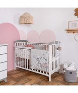 Disney Baby Crib Bedding Set Winnie The Pooh with Dandlion Pink Color 3 Pieces - $194.74