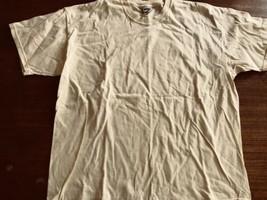 Vintage Lee Total Cottont-shirt XL Pale Yellow  - $7.59