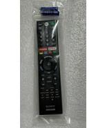 Genuine Sony TV Remote Control for XBR-55X850F XBR-65X850F Smart TVs RMF... - $34.64