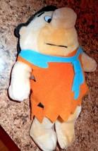 "Nanco Vintage Fred Flintstone Plush Stuffed 10.5"" Tall 1989 - $7.78"