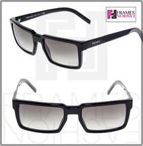 Prada 03S Technique Square Brown Gradient Sunglasses Unisex PR03SS Authentic - $242.55