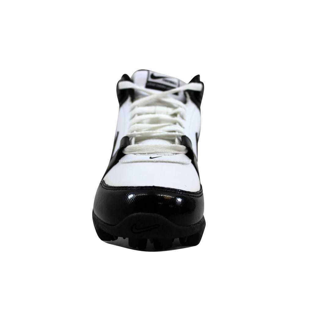 67f8c77862c Nike Land Shark Legacy Mid White Black 396232-101 Men s SZ 8.5