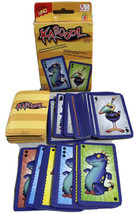 Kaboodl Card Game From The Makers of UNO Kooky Family Mattel Complete - $8.81