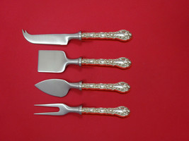 Marechal Niel by Durgin Sterling Silver Cheese Serving Set 4 Piece HHWS  Custom - $332.60