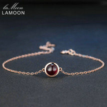 classic simple 6mm 1 1ct 100 natural red garnet 925 sterling silver jewelry s925 charm thumb200