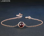 Sic simple 6mm 1 1ct 100 natural red garnet 925 sterling silver jewelry s925 charm thumb155 crop