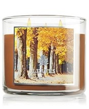Bath & Body Works 14.5 ounces 3-wick Candle Leaves Limited Edition for 2013 - $40.87