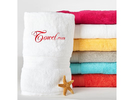 Personalized Egyptian Cotton Hand Towel, 100% Cotton | Monogrammed Gift ... - $18.99