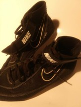 Nike Wrestling / MMA / Boxing Shoes - Black / White - Preowned  -  Size 12 - $51.43